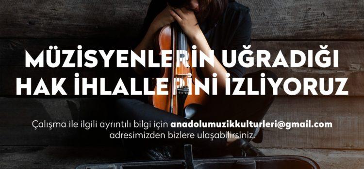 Müzisyenlerin Uğradığı Hak İhlallerini İzliyoruz